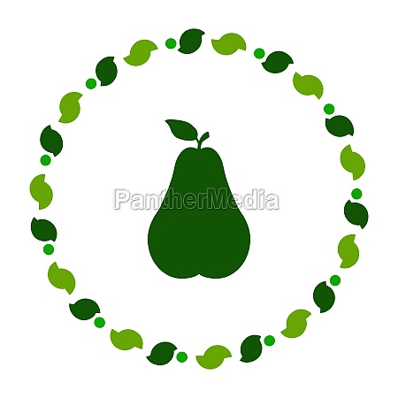 pear and wreath