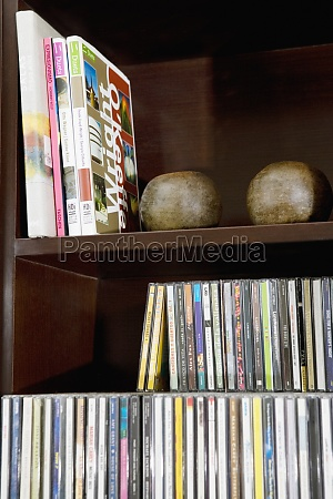 close up of books on a