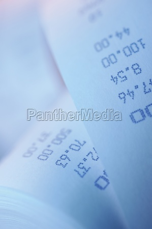 close up of numbers on a