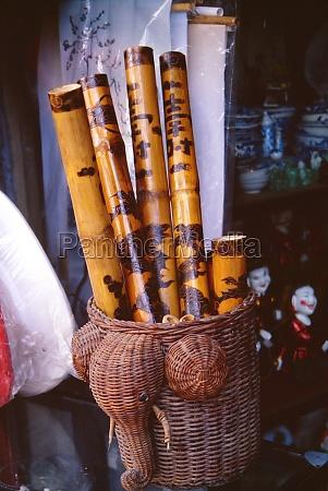 bamboo flutes hanoi vietnam