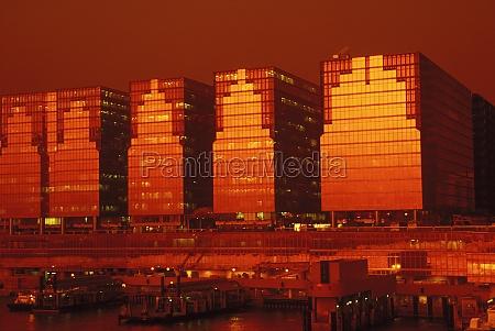 buildings at the waterfront hong kong
