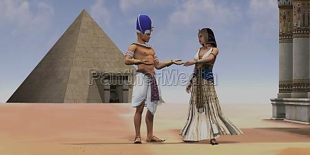 egyptian queen pharaoh temple