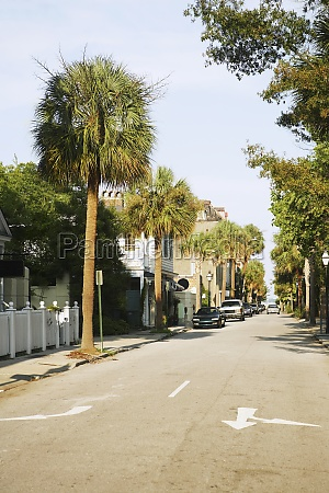 cars parked at the roadside charleston