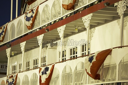 colonnade in the balcony of a