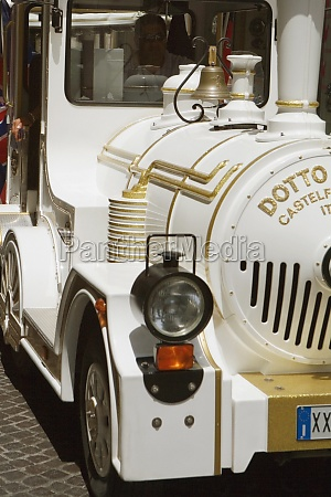 closeup of an antique car sorrento