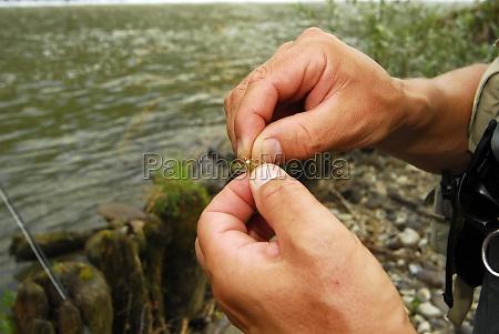 fishing hooks as fishing baits