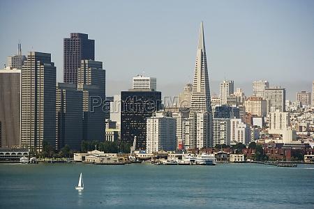 skyscrapers at waterfront san francisco california