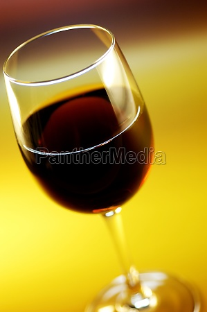 close up of wine in a