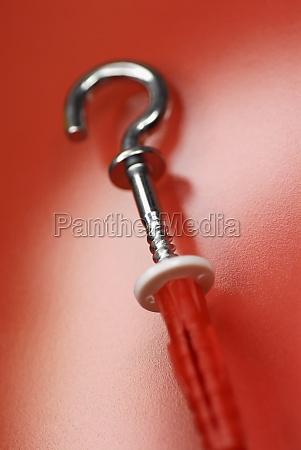 close up of a corkscrew