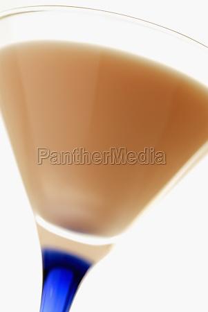 close up of milk in a