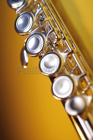 close up of a flute