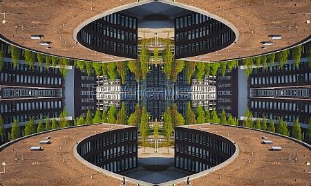 architecture abstract futuristic
