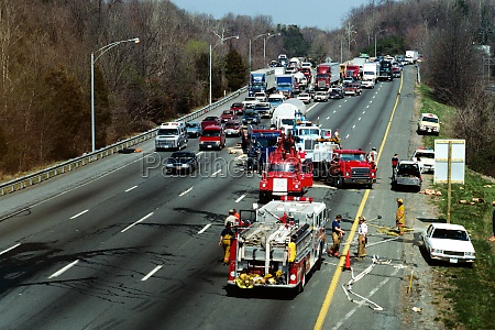 traffic accident on 495 beltway bethesda