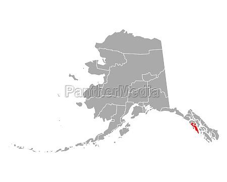 map of sitka in alaska