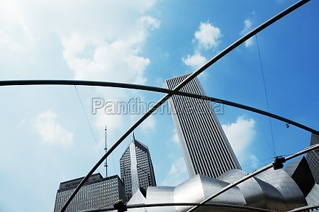 low, angle, view, of, skyscrapers, in - 29527188