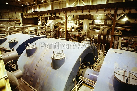 power generators at an atomic power