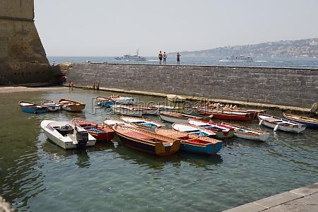 boats docked at a harbor borgo