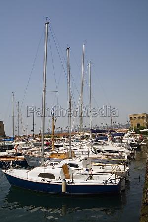 sailboats docked at a harbor borgo