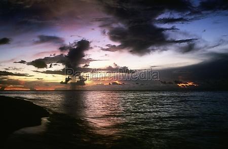clouds over the sea sipadan borneo