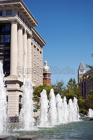 water fountain in front of a