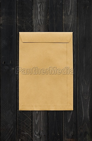large a4 brown paper enveloppe mockup