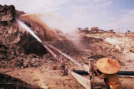 mining operation in asia