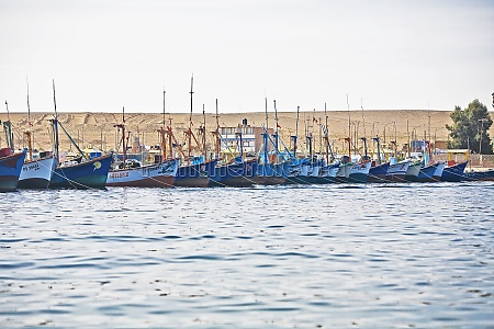 boats moored at a harbor chaco