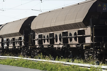 freight train to transport goods by