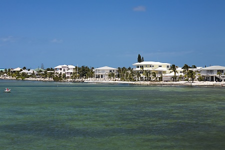 tourist resort at the waterfront florida