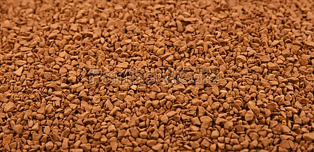 background texture of freeze dried instant