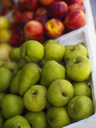 close up of fruits in fruit