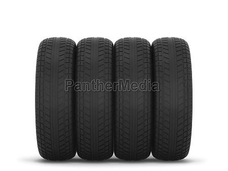 rubber car tire