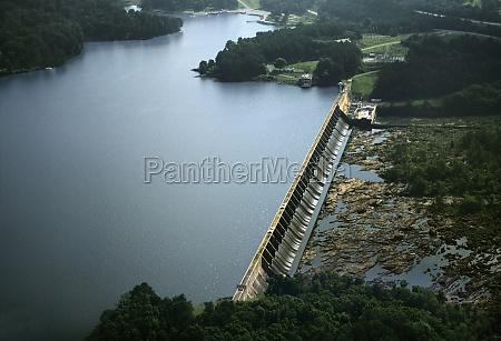 oliver hydroelectric dam georgia usa
