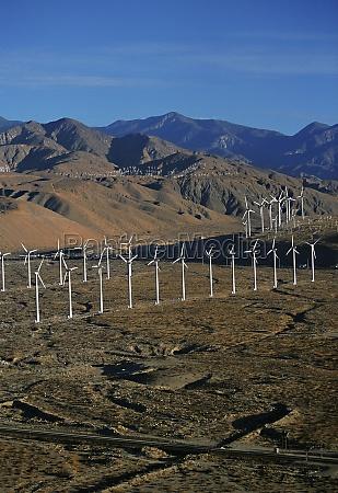 wind farm turbines whitewater california