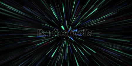 internet speed blue green