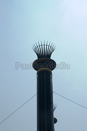low angle view of a chimney