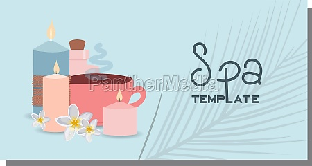cosmetics advertising illustration simple and healthy