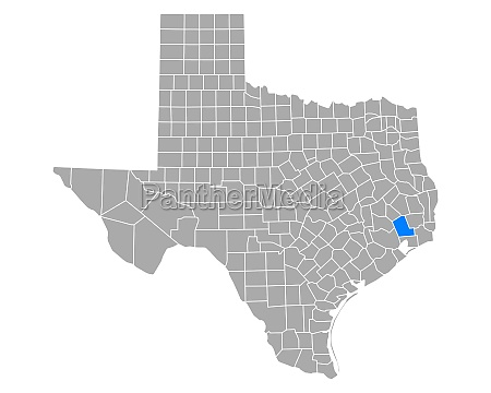 map of liberty in texas