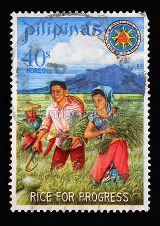 stamp issued in the philippines shows