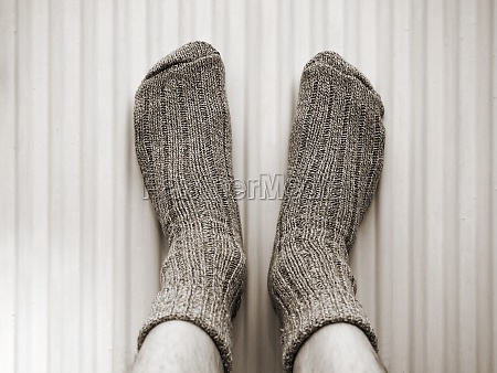 warm feet on the heater