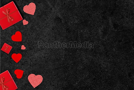 love background valentines day red hearts