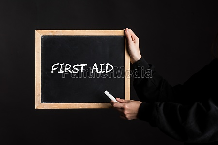 first aid or first help