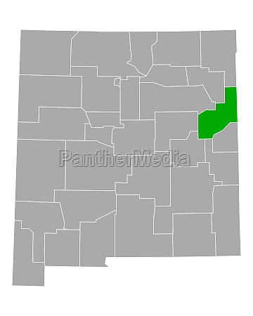map of quay in new mexico
