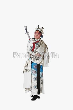 mature man wearing traditional clothing