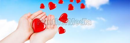 happy valentines day background love heart