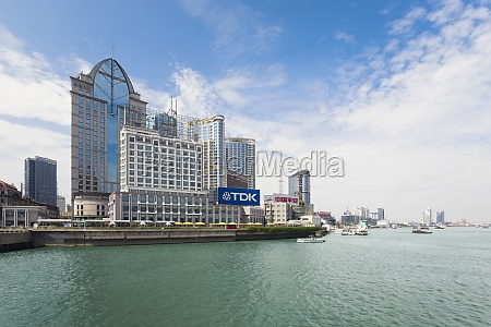 buildings at the waterfront lujiazui the