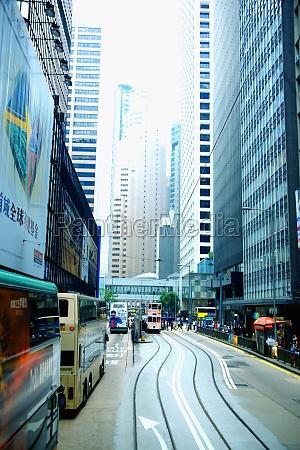 traffic on the road hong kong
