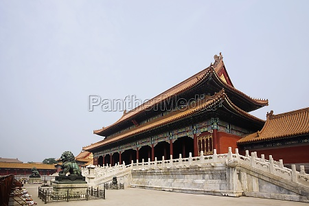 low angle view of a palace