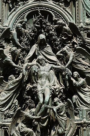 lamentation of christ detail of the
