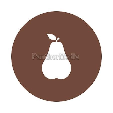 pear and circle